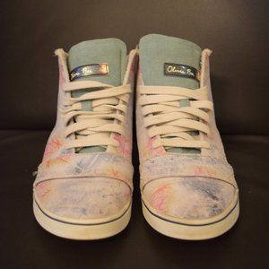 Limited Edition Olivia Bee for Nike High Tops 7.5